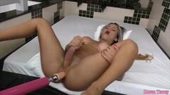 Kinky Sexy Naked Twat Avenna Swims Nude in The Pool Thumb