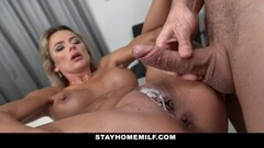 Mystery Blonde Milf Rides Cock In CFNM Sextape Thumb