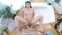 naughty mature blonde tugs on cfnm cock Thumb