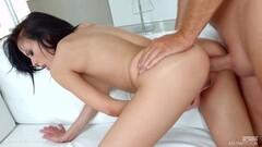 Sweet Cute blonde Lizka gets her pussy massaged Thumb