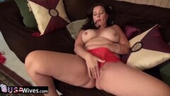 Hot Babe with Rabbit Vibe Satisfies Her Horny Pussy Thumb