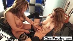 Mature Porn Star on the Orgasm Machine Thumb