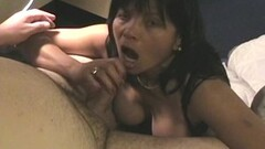Hot Blonde and Asian babe fucked in trio Thumb