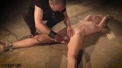 Sexy Bondage slave girl tied up pussy fingering punishment Thumb