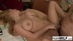 Sweet Blue Angel RETURNS 2 Porn With Big Dick 3-Way Thumb