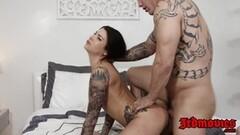 Brunette FemDom Lelu Love in pantyhose Thumb