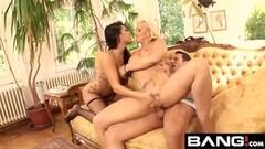 CFNM British voyeur enjoys JOI at saucy audition Thumb