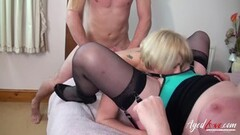 Blonde creampie homemade and anal first Thumb