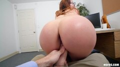 Blonde Mature Bombshell Sucking And Fucking My Cock Thumb