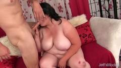 Amina Danger fucking in hot pantyhose Thumb