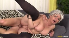 Sexy Babysitter Sucks and Fucks a Big Cock Thumb